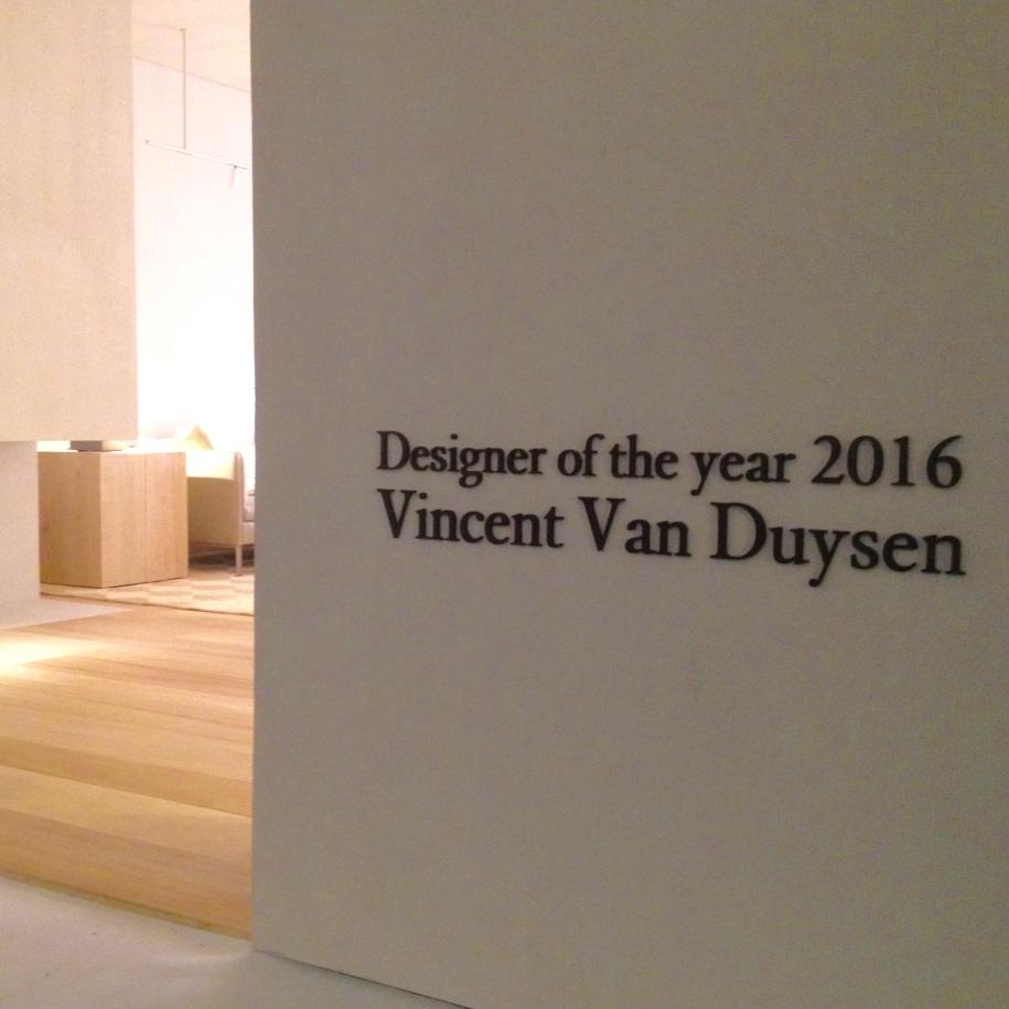 Designer of the Year 2016 Vincent Van Duysen